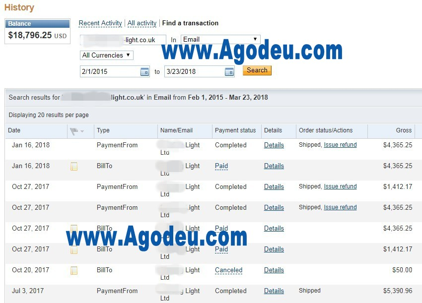 royal_customer_paypal_payments_to_agodeu_Singapore_Indonesia_Malaysia_Philippines_LED_products_factory